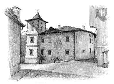 G moretti studio for Disegni di case in prospettiva
